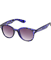 Happy Hour Dreamers Purple Triangles Sunglasses