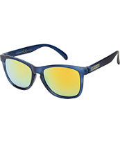 Happy Hour Eagle Eyes Blue Sunglasses