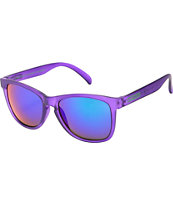 Happy Hour Grapevines Clear Purple Sunglasses