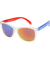 Happy Hour High Tides Red, White, & Blue Sunglasses