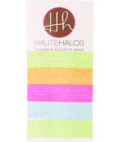 Haute Halos Assorted Neon Hair Ties