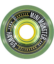 Hawgs Mini Monsters 70mm 80a Longboard Wheels