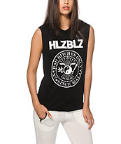 Hellz Bellz Bad Bitches Muscle Tee