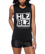 Hellz Bellz Grid Muscle Tee