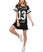 Hellz Bellz Lucky 13 Mesh Jersey Dress