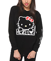 Hellz Bellz x Hello Kitty Wink Long Sleeve T-Shirt