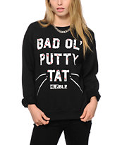 Hellz Bellz x Looney Toons Putty Tat Crew Neck Sweatshirt