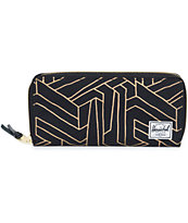 Herschel Supply Avenue Gold Geo Wallet