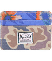 Herschel Supply Charlie Duck Camo Cardholder Wallet
