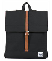 Herschel Supply City Black 7L Mid-Volume Backpack