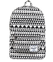 Herschel Supply Classic Black & White Chevron Print 21L Backpack