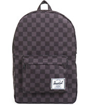 Herschel Supply Classic Black Checkerboard Backpack