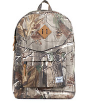 Herschel Supply Co Heritage Real Tree Print 21L Backpack