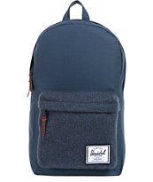 Herschel Supply Co Navy Blue Knit Woodside Backpack