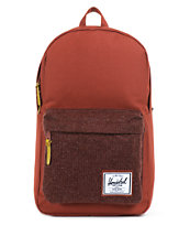 Herschel Supply Co Rust Knit Woodside Backpack