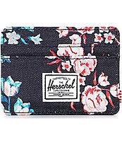 Herschel Supply Co. Charlie Floral tarjetero