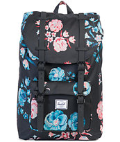 Herschel Supply Co. Little America Mid Pastel Petals 17L Backpack