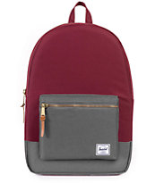 Herschel Supply Co. Settlement Windsor Wine & Grey 17L Backpack