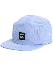Herschel Supply Glendale Chambray 5 Panel Hat