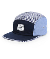 Herschel Supply Glendale Gingham 5 Panel Hat
