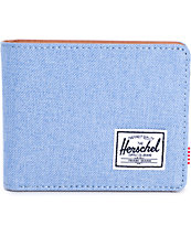 Herschel Supply Hank Chambray Bifold Wallet