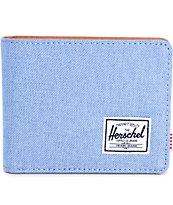 Herschel Supply Hank Chambray Bifold Wallet