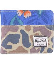 Herschel Supply Hank Duck Camo Bifold Wallet