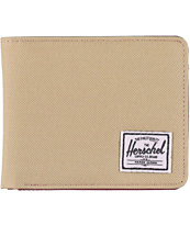 Herschel Supply Hank Khaki Bifold Wallet
