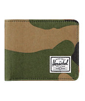 Herschel Supply Hank Woodland Camo Bifold Wallet