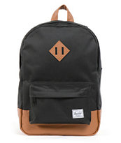 Herschel Supply Heritage Black 11L Mid-Volume Backpack