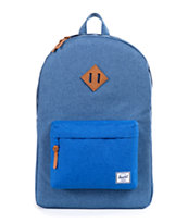 Herschel Supply Heritage Cobalt Crosshatch 21L Backpack