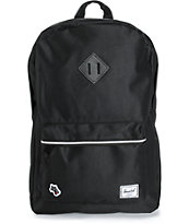 Herschel Supply Heritage Hounds Black 20L Backpack