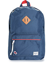 Herschel Supply Heritage Hounds Navy 20L Backpack