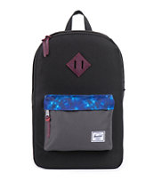 Herschel Supply Heritage Kaleidoscope Black 11L Backpack