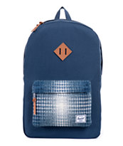Herschel Supply Heritage Navy Knit 21L Backpack