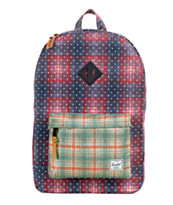 Herschel Supply Heritage Plaid & Polka Dot 21L Backpack