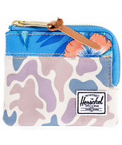 Herschel Supply Johnny Duck Camo Zip Wallet