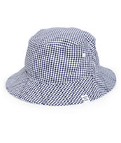 Herschel Supply Lake Gingham Reversible Bucket Hat