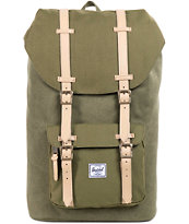 Herschel Supply Little America Army Cotton Canvas Backpack
