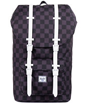 Herschel Supply Little America Black Checkerboard Backpack