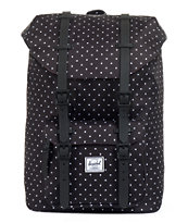 Herschel Supply Little America Black Polka Dot 24L Backpack