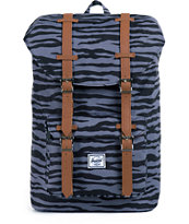 Herschel Supply Little America Black Zebra Print 41.5L Backpack