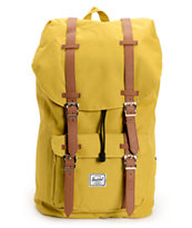 Herschel Supply Little America Butternut Yellow 24L Backpack