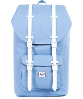 Herschel Supply Little America Chambray Crosshatch 23.5L Backpack