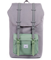 Herschel Supply Little America Grey Foliage 23.5L Backpack