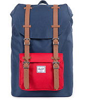 Herschel Supply Little America Navy & Red 16.5L Backpack