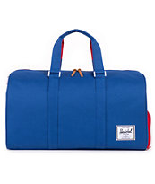 Herschel Supply Novel Blue & Red 42.5L Duffle Bag