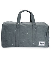 Herschel Supply Novel Scattered Charcoal 42.5L Duffle Bag