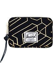 Herschel Supply Oxford Gold Geo Pouch