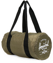 Herschel Supply Packable Army Green Duffel Bag